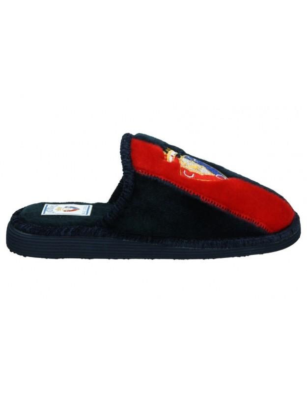 Zapatillas de casa club atletico osasuna de niño andinas color azul
