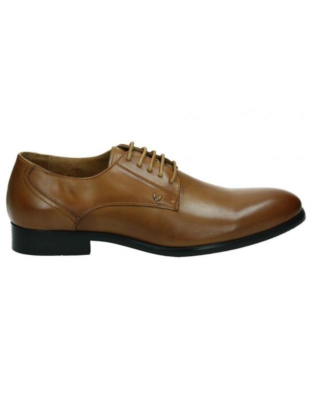 Zapatos para caballero planos martinelli 373-0408pyx en marron