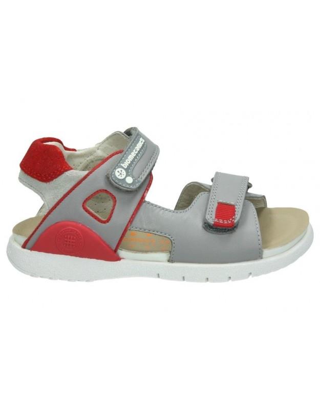 Sandalias garvalin bm182180 b gris para niño