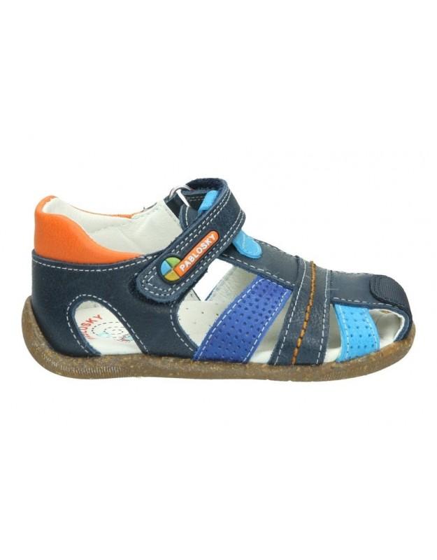 Sandalias color azul de casual pablosky 024726
