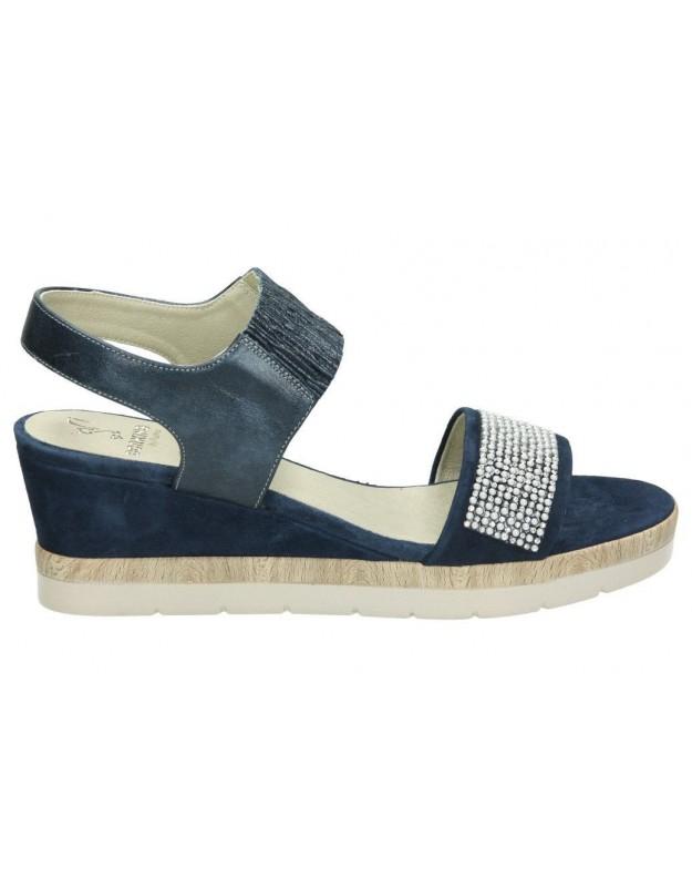 Sandalias para señora dorking 7481 azul