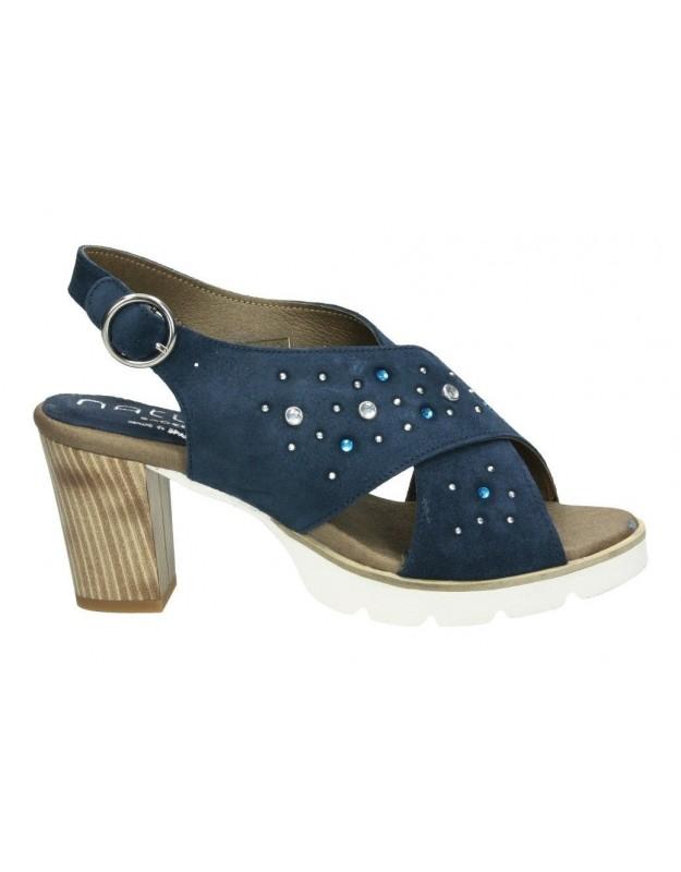 Nature azul 3978 sandalias para señora