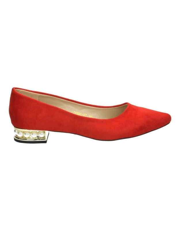 Zapatos casual de moda joven blackcool 1092 color rojo