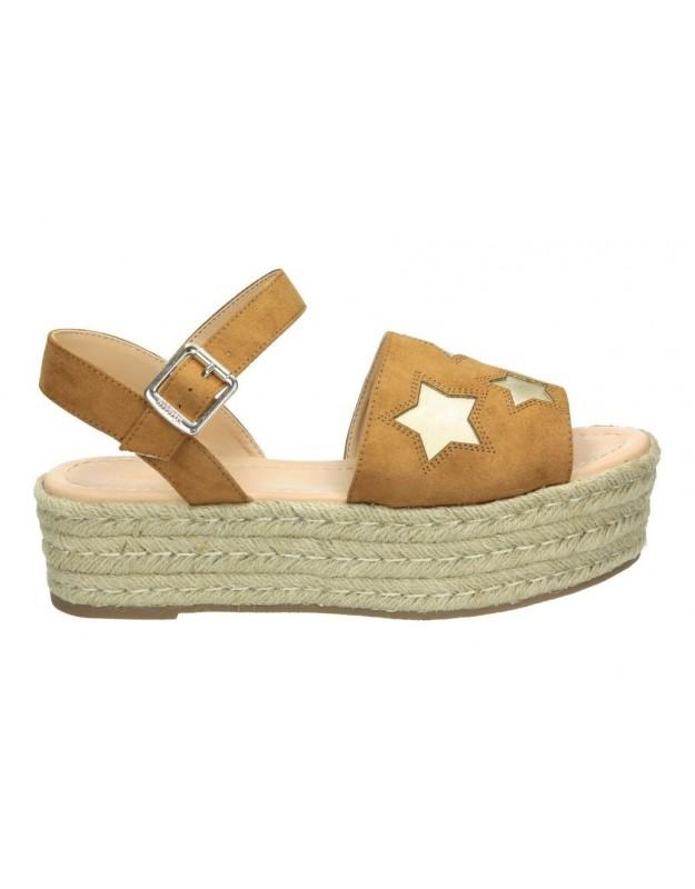 Sandalias para moda joven mtng 57839 marron