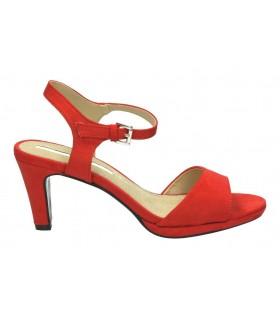Zapatos para señora cuña agatha 9007 en plata