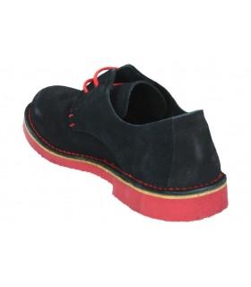 Zapatos para señora planos kichua 132 en azul