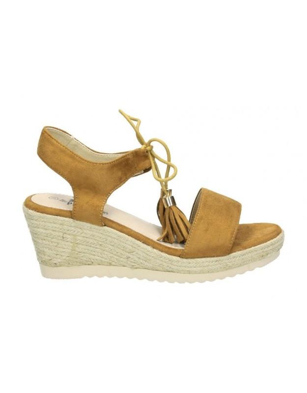 Xti marron 48132 sandalias para moda joven