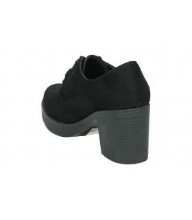 Botines color negro de casual mtng 58556