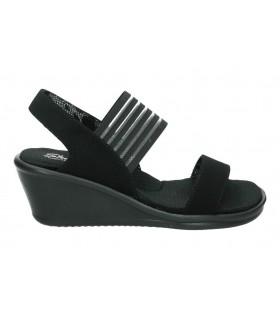 Skechers negro 32383-bbk sandalias para señora