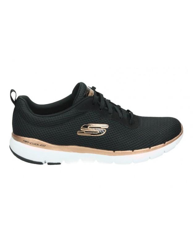 Sandalias para señora skechers 31514-blk negro