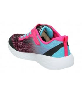 Skechers gris 15467-gry zapatos para señora