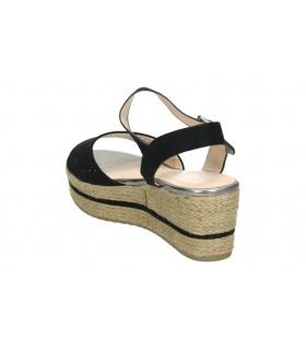 Sandalias para señora d´angela dws15647-m plata