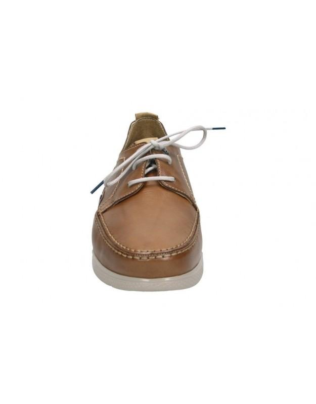 Sandalias casual de moda joven alpe 4039 color marron