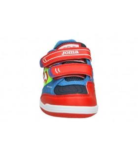 Sandalias color rojo de casual chk10 frida 02