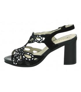 Sandalias casual de moda joven chk10 frida 02 color negro
