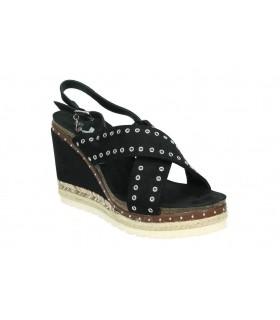 Sandalias casual de moda joven top3 9550 color negro