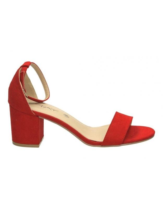 Sandalias stay 17-229 rojo para moda joven