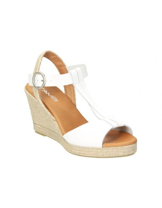 Sandalias tambi drax blanco para moda joven