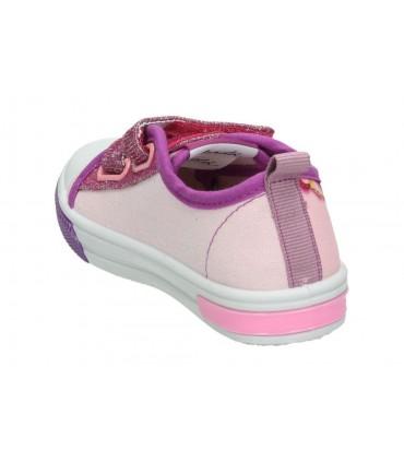 Sandalias alpargatas para moda joven planos top3 9506 en blanco