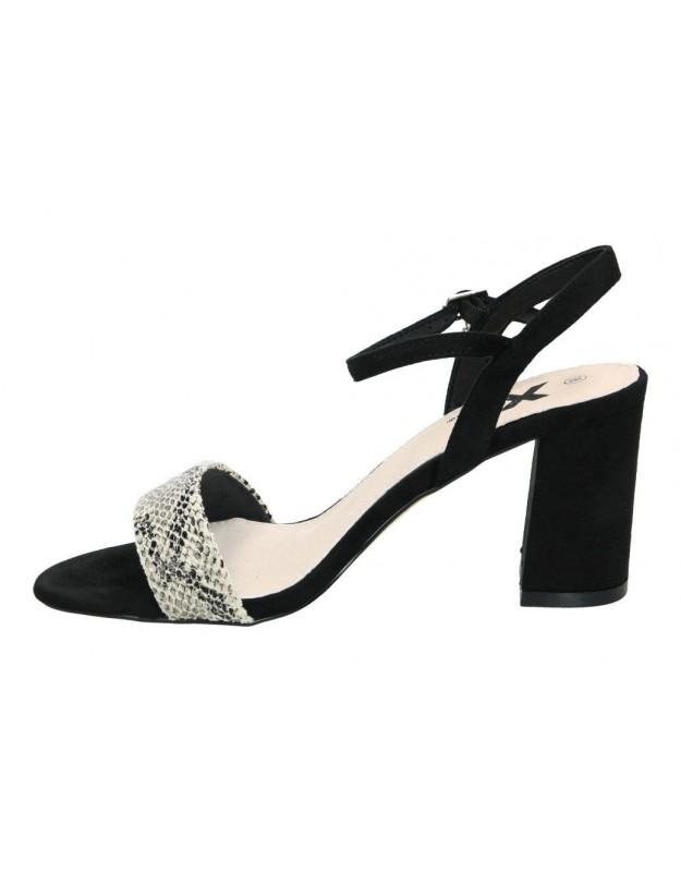 Sandalias xti 49127 negro para moda joven