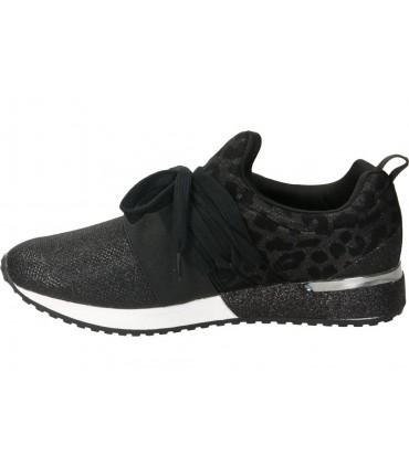 Sandalias para señora cuña stay 15-240 en negro