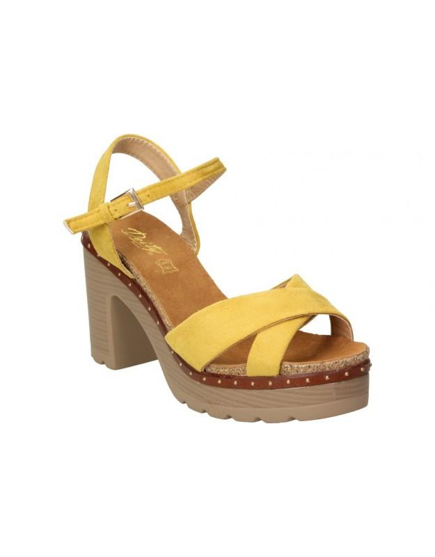 Sandalias deity ybh15485 marron para moda joven