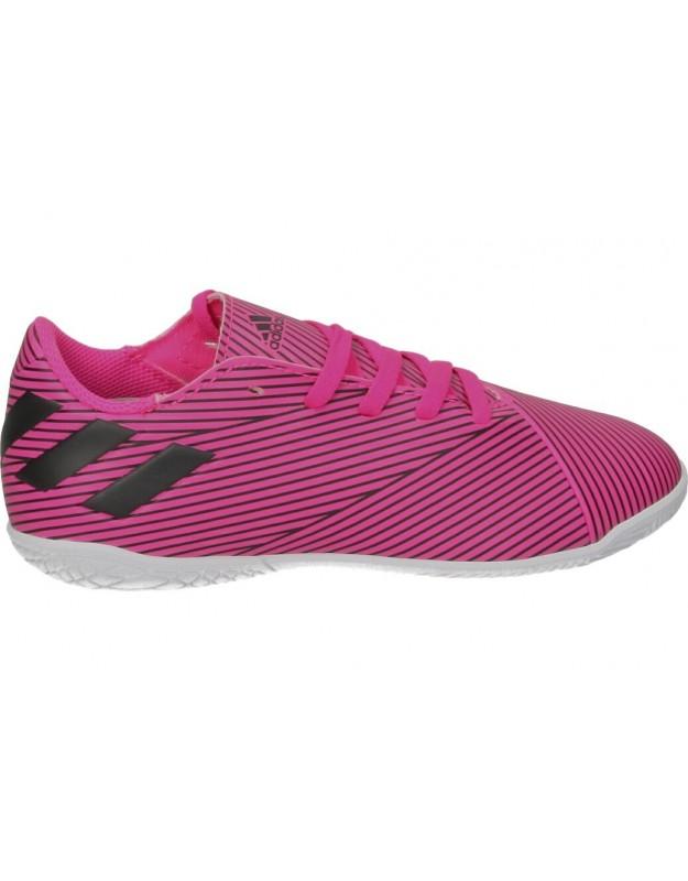 Deportivas fútbol para niño adidas Nemeziz 19.4 IN f99939 rosa