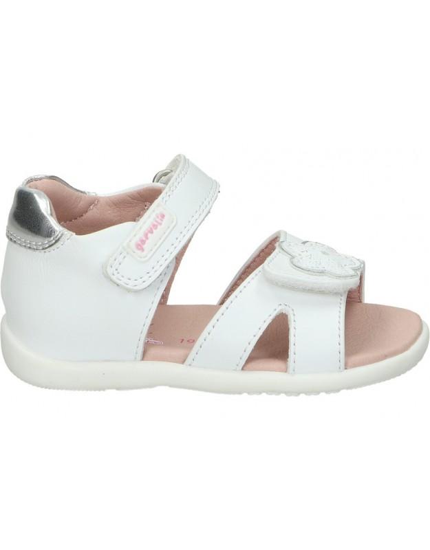 Sandalias garvalin 202308 b blanco para niña