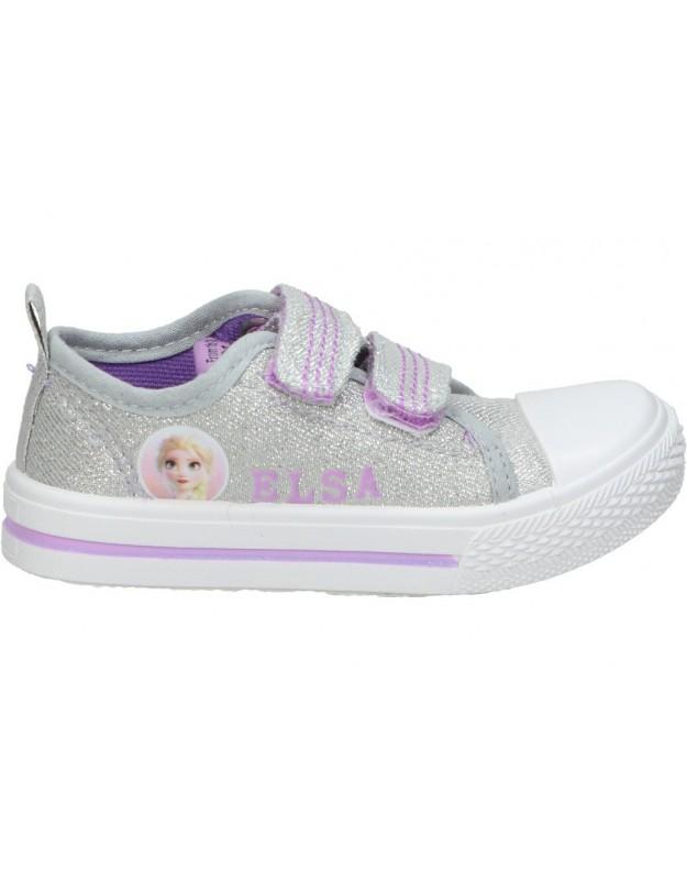 Zapatillas de FROZEN para niña cerda 2300004339 color gris personaje ELSA