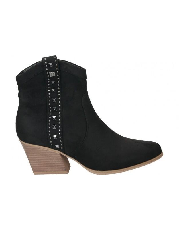 Botines para moda joven mtng 58096 negro