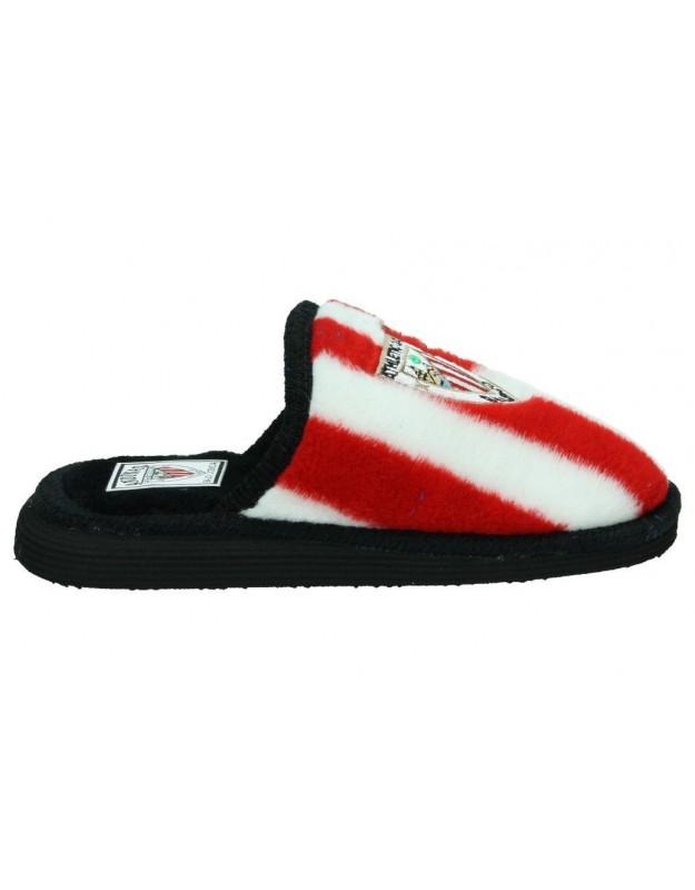 Zapatillas de casa Athletic Club bilbao para caballero andinas rojo