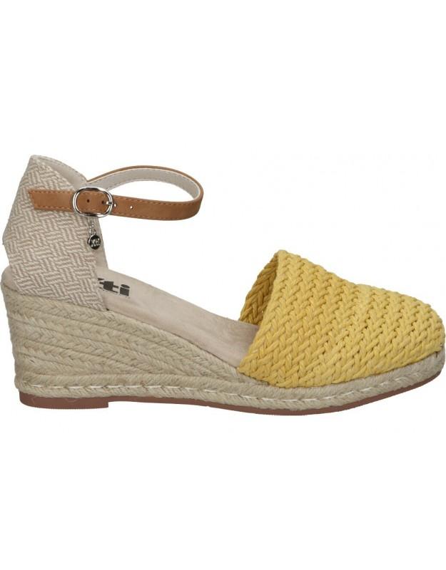 Zapatos para moda joven xti 44027 amarillo