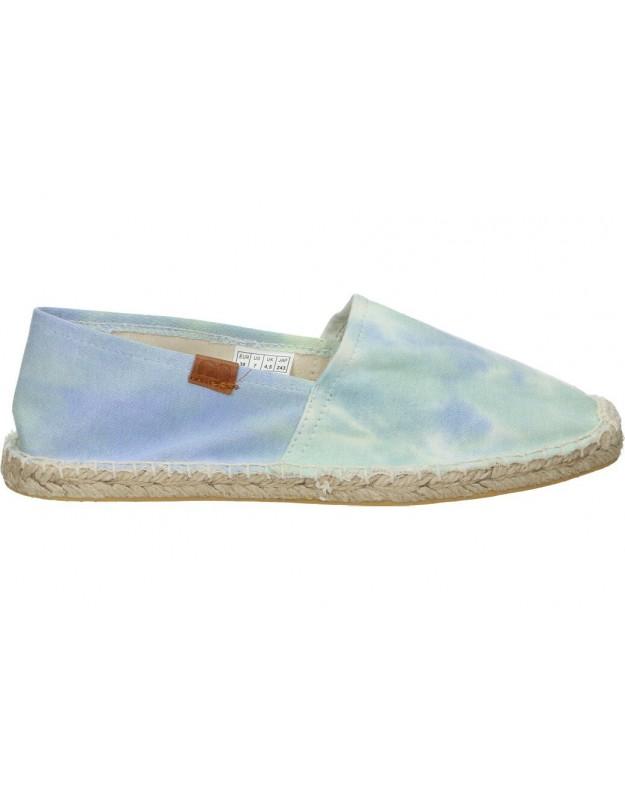 Zapatos color azul de casual emmshu siris