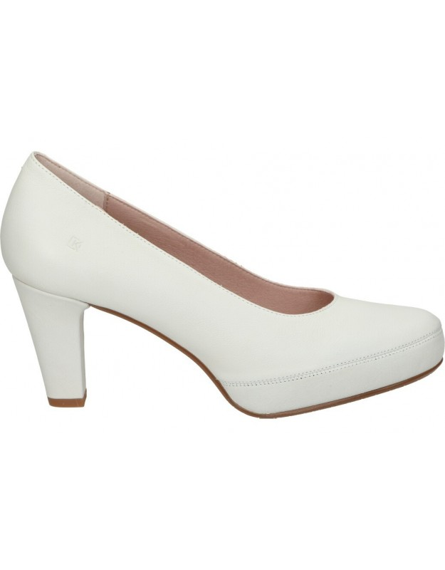 Dorking blanco d5794 zapatos para señora