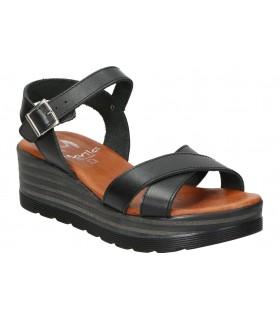 Botines para moda joven tacón mtng 58637 en negro