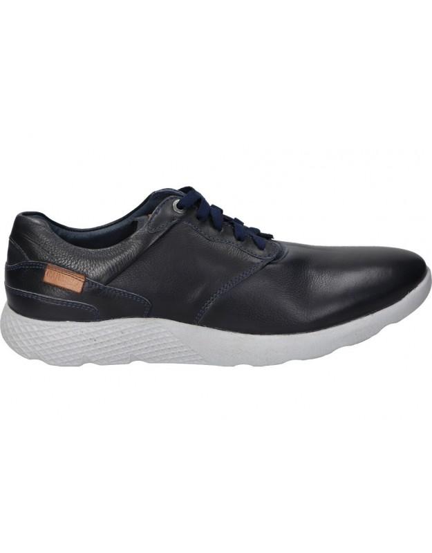 Zapatos para caballero planos carmela 67221 en azul