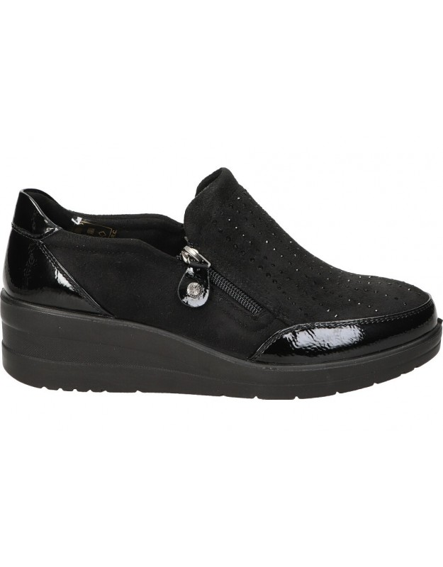 Zapatos amarpies ajh18804 negro para señora