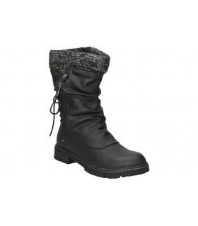 Zapatos para caballero planos dunlop 35449. en negro