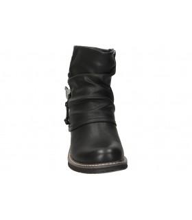 Carmela negro 66963. botines para moda joven