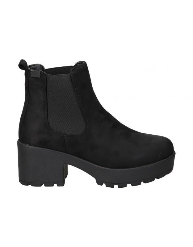 Botines para moda joven emmshu nyna negro
