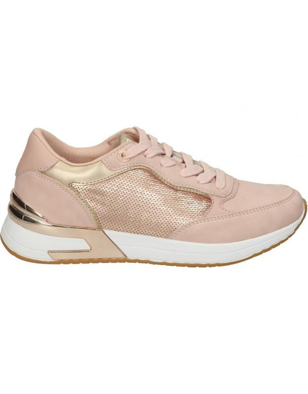Deportivas para moda joven planos mtng 69413 en rosa