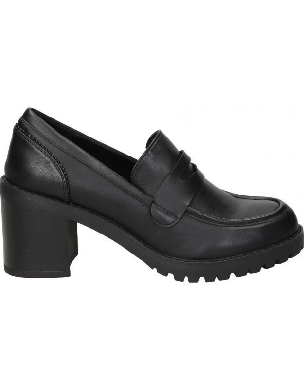 Zapatos color negro de casual mtng 58369
