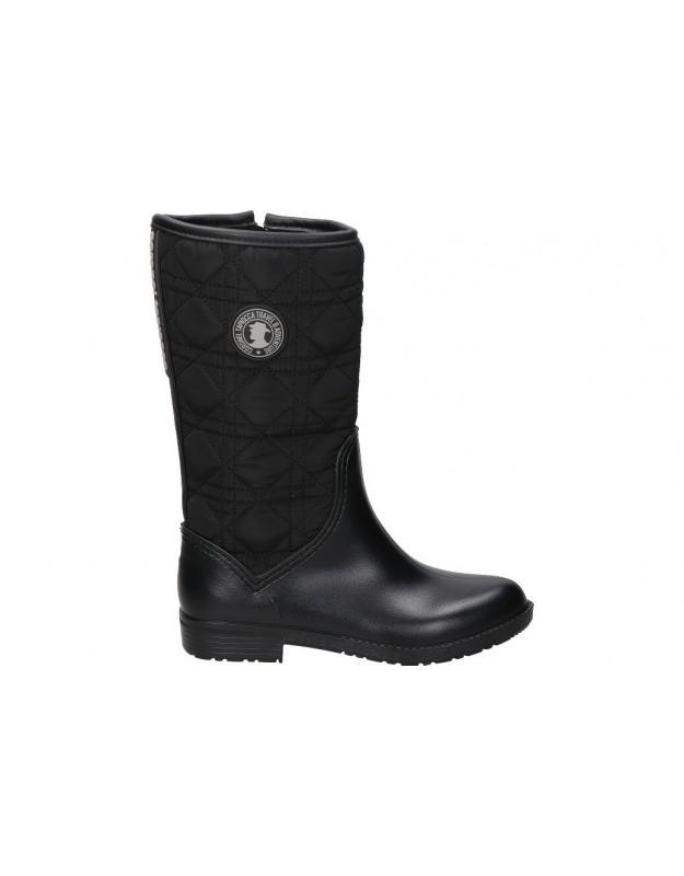 C. tapioca negro t3720-1 botas de agua para señora