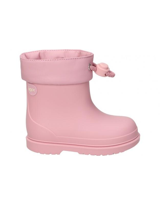 Botas de agua color rosa de casual igor bimbi mc