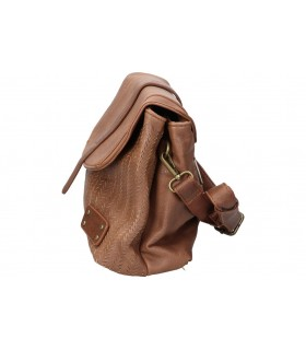 Mochila color marron de casual d. jones 6269-1 med: 21cm x 25cm x 11cm