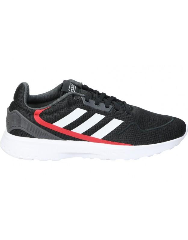 Adidas negro eg3704. deportivas para caballero