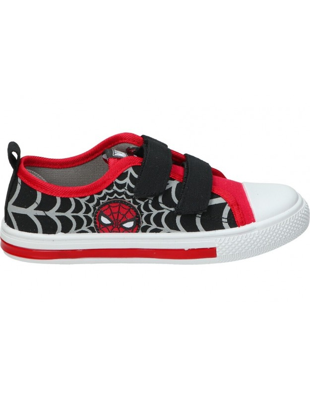 Lonas con luces para niño cerda 4708 spiderman rojo