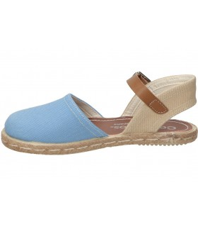 Zapatos para moda joven planos vivant lo-19145 en azul
