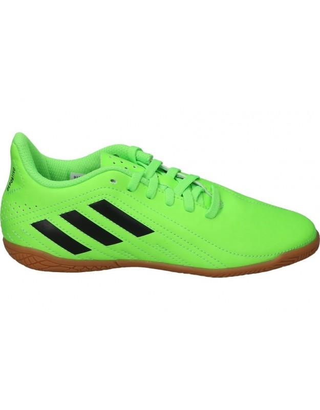 Adidas verde fy7623 deportivas fútbol sala para niños