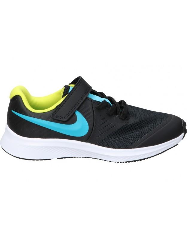 Nike Star runner 2 negro at1801-012 deportivas para niño velcro